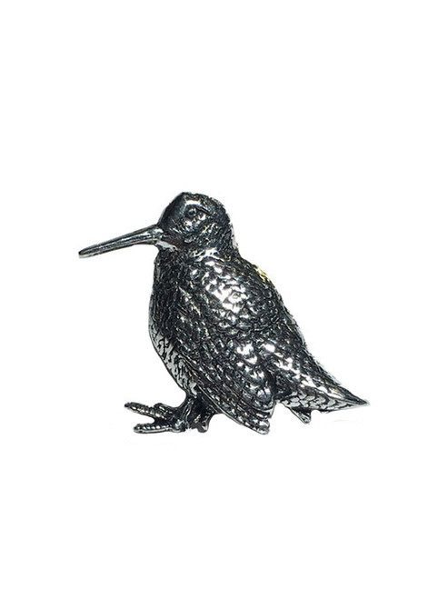 Woodcock Pewter Pin