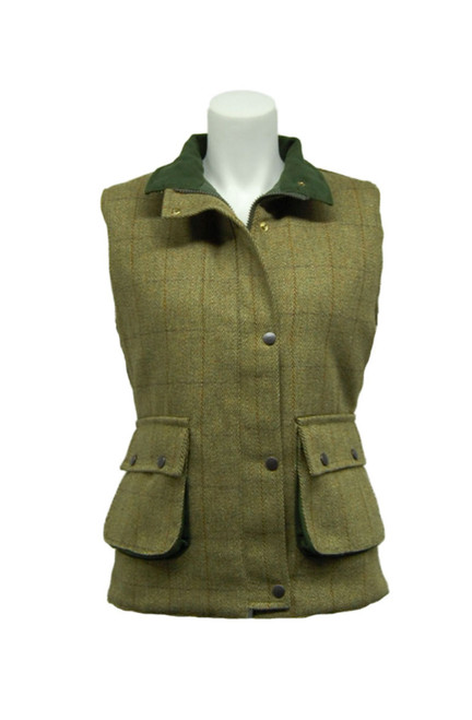Ladies Tweed Waistcoats