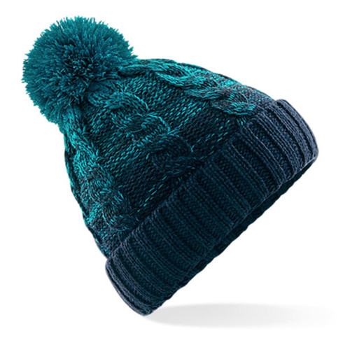 Beanie hat with fleece lining