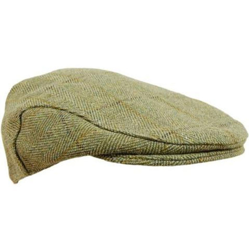 Game Tweed Flat Cap