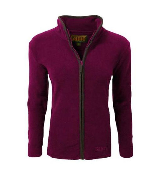 Ladies Mid weight fleece jacket