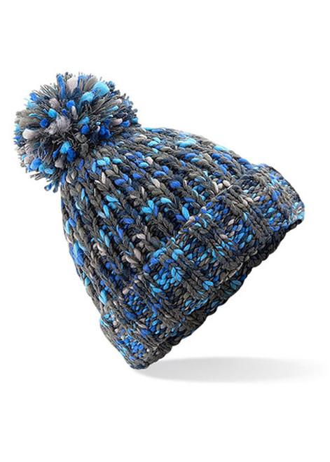 Knitted Pom Pom Beanie