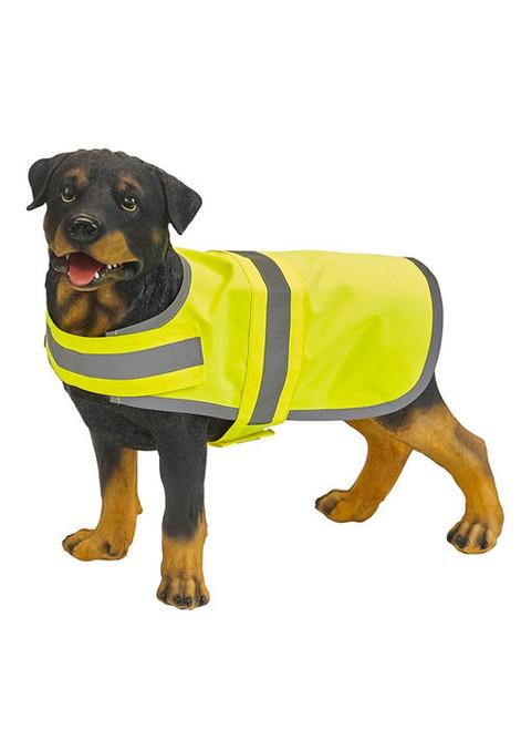 Hi visibility dog coat