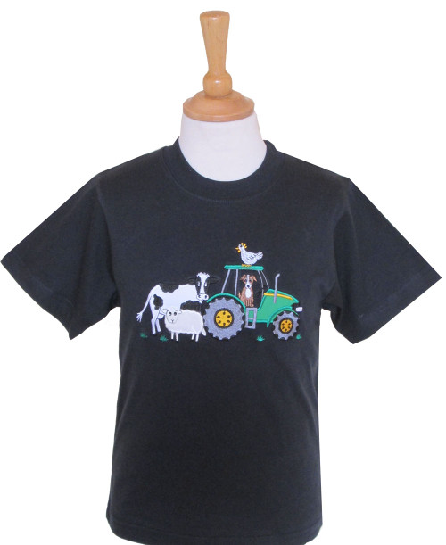 Childrens T-Shirts - Farmyard