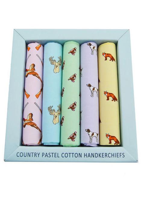 Country Themed Handkerchief