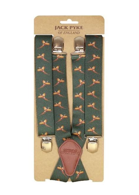 Flying Pheasant Braces