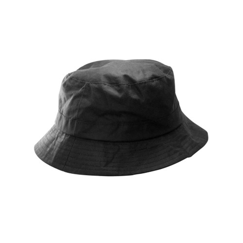 Brown Wax Bush Hat