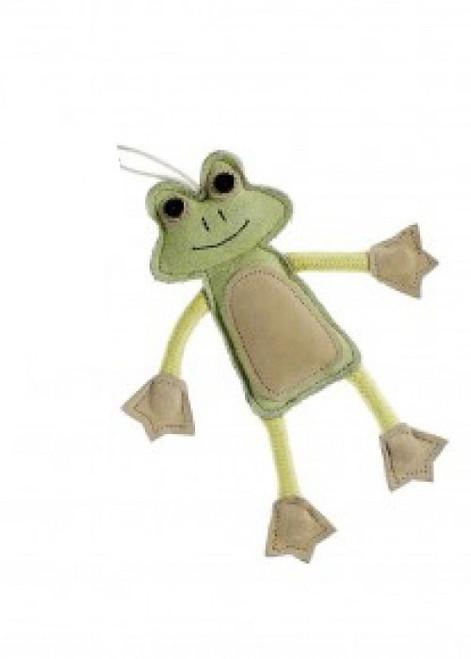 Francois Le Frog Natural Dog Toy