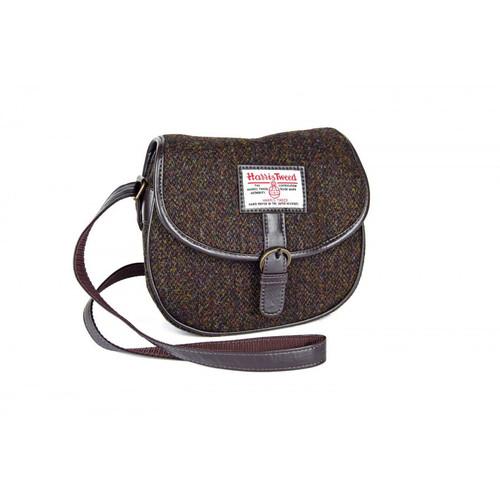 Moira Harris Tweed Saddle Bag