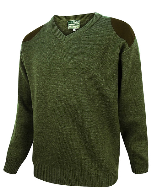 Hoggs of Fife Melrose V-Neck Jumper
