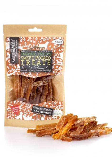 Sweet Potato Natural Dog Treats