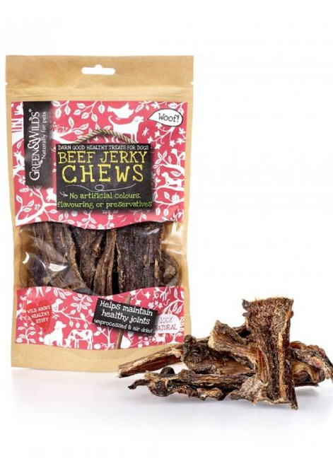 Beef Jerky Natural Dog Chews