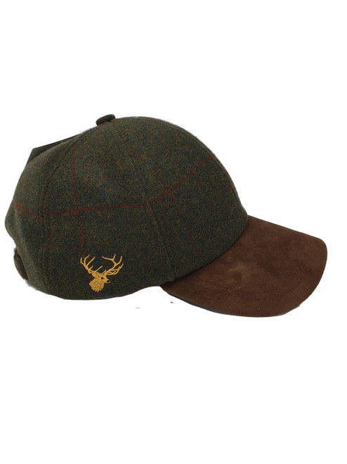 Stag Embroidered Baseball Cap
