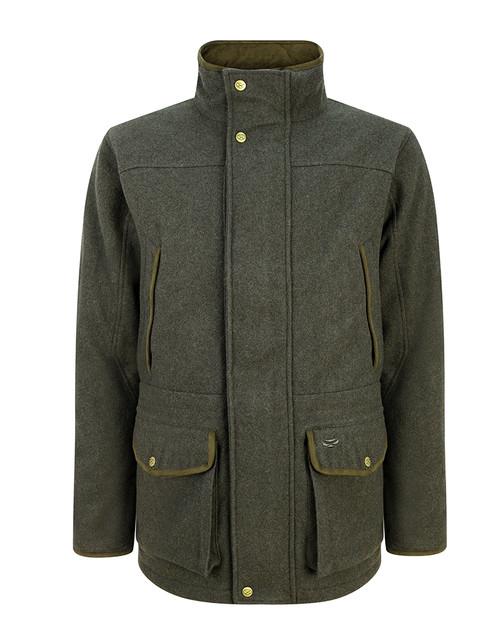 Hoggs of Fife Lairg Waterproof Wool Coat