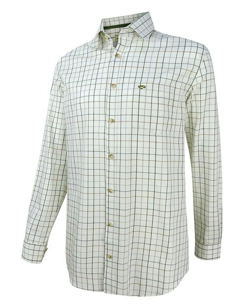 Hoggs of Fife Balmoral Luxury Tattersall Shirt
