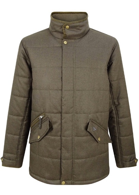 Hoggs of Fife Mens Elgin Quilted Jacket