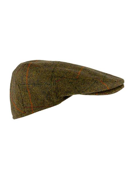 Jack Pyke Wool Blend Tweed Flat Cap