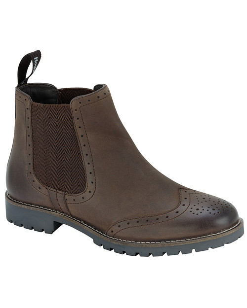 Hoggs of Fife Brogue Chelsea Boot