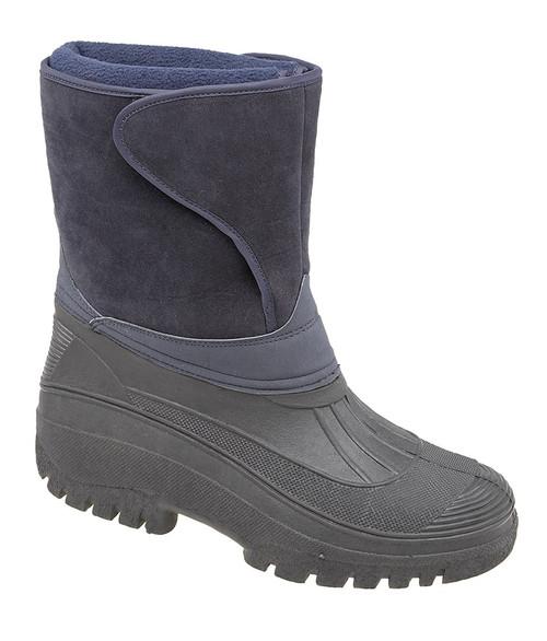 Warm dog walking boots