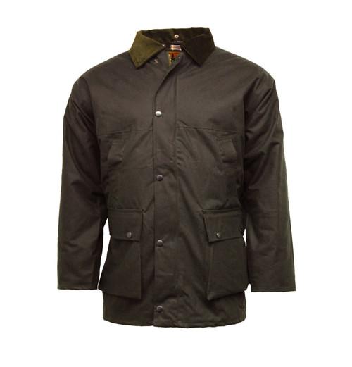 mens wax jacket