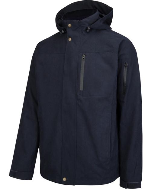 Hoggs of Fife Struther Zip Through Jacket Navy