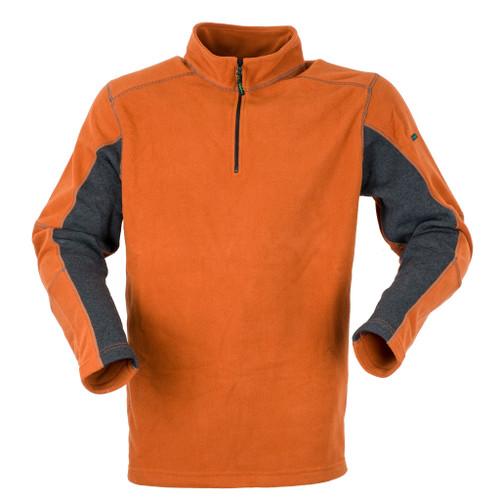 Ridgeline Norwegian Half Zipped Fleece Top - Autumnal