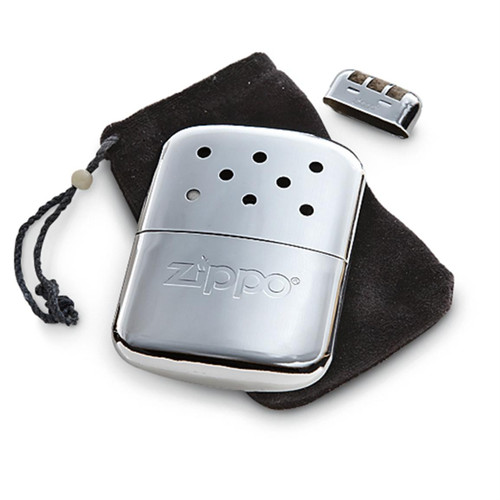 Zippo Handwarmer - Chrome Finish with warming bag