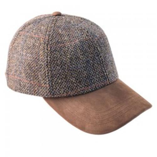 Harris tweed baseball caps