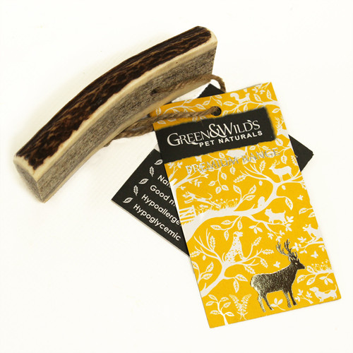Antler Dog Chews - Easy for Puppies
