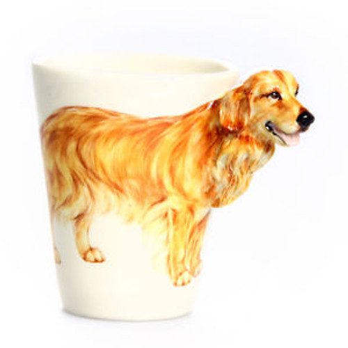 Blue Witch Golden Retriever Coffee Mug