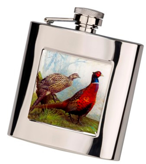 Stainless Steel Hip Flask with Presentation Box and Funnel