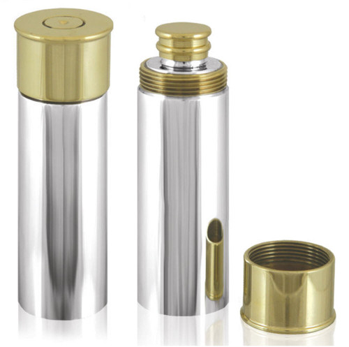 Gun Cartridge Hip Flask