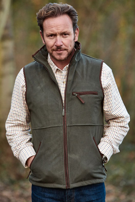 Sherwood Forest Tatton Lightweight Fleece gilet