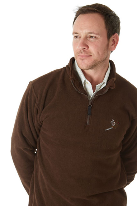 Sherwood Forest Hanford Microfleece - Brown