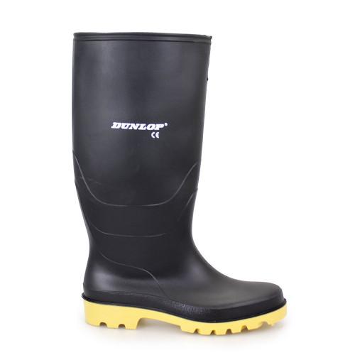 Adults Dunlop Pricemaster Wellington Boot Black