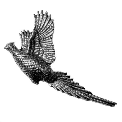 Raising Pheasant Pewter Pins