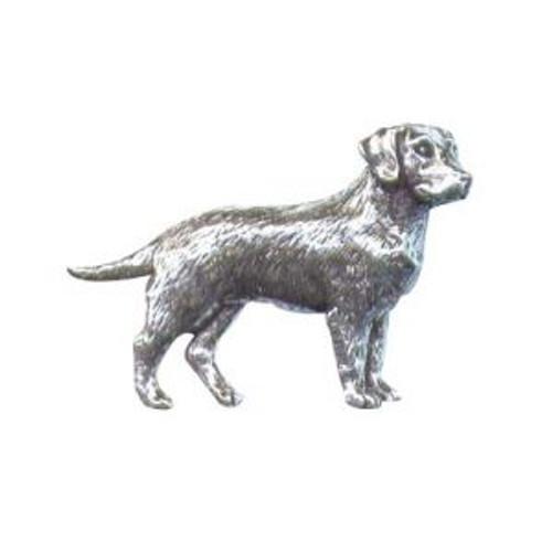 Labrador Pewter Pin