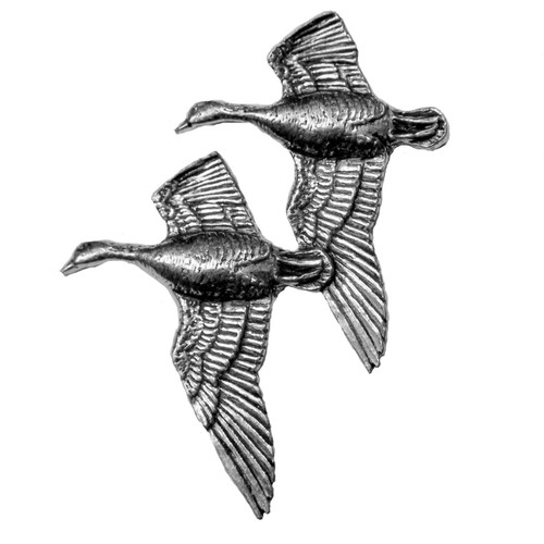 Flying Geese Pewter Pins
