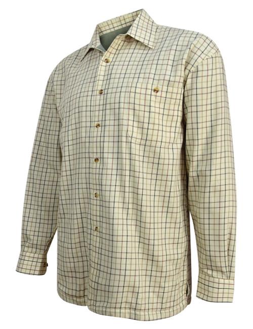 Hoggs of Fife Birch Fleece Lined Shirt