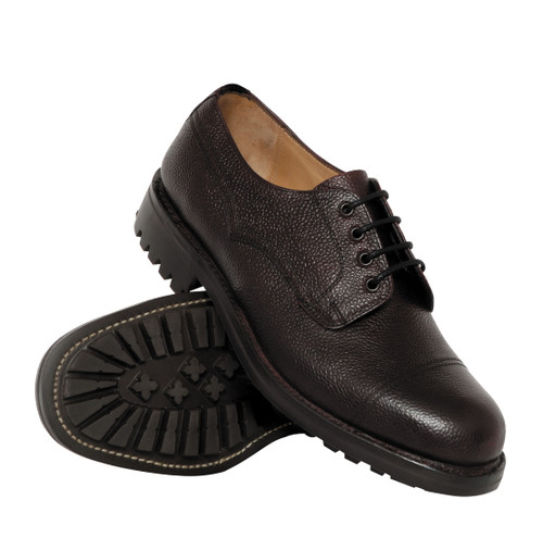 Hoggs of Fife Roxburgh Shoe - Dark Brown