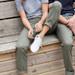 Women's Stretch Chino Trousers - Khaki