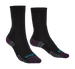 Ladies Bridgedale Lightweight Trekker Sock - Black