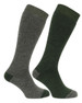 Hoggs Country socks Tweed with Loden