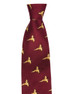 Silk Tie Wine - Flying Pheasants