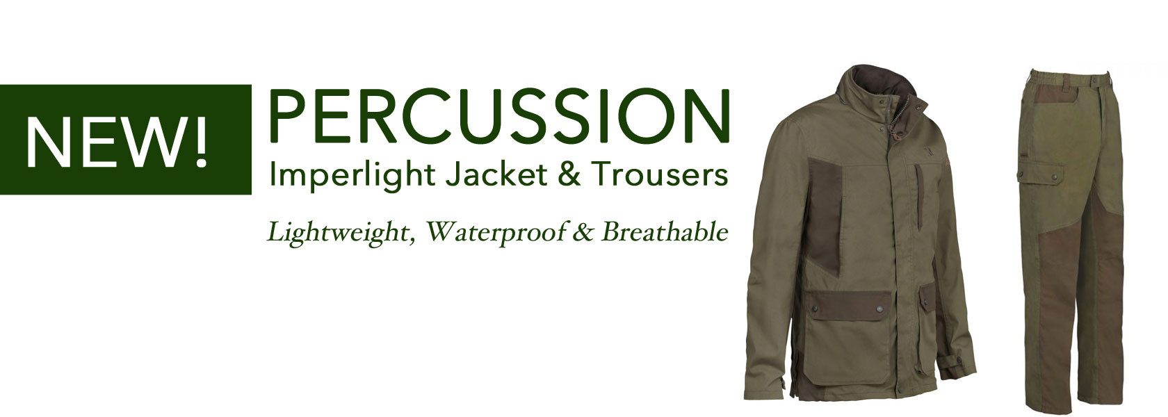 Percussion Imperlight Jacket & Trousers