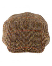 Harris Tweed Flat Cap & Hats
