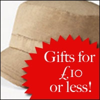 Gifts for less than £10