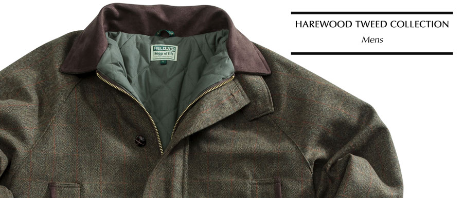 Hoggs of Fife Harewood Tweed Collection