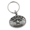 Pewter Arizona Centennial Keychain