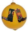 """Cowboy Boots - 3"""" Ornament Set of 2"""